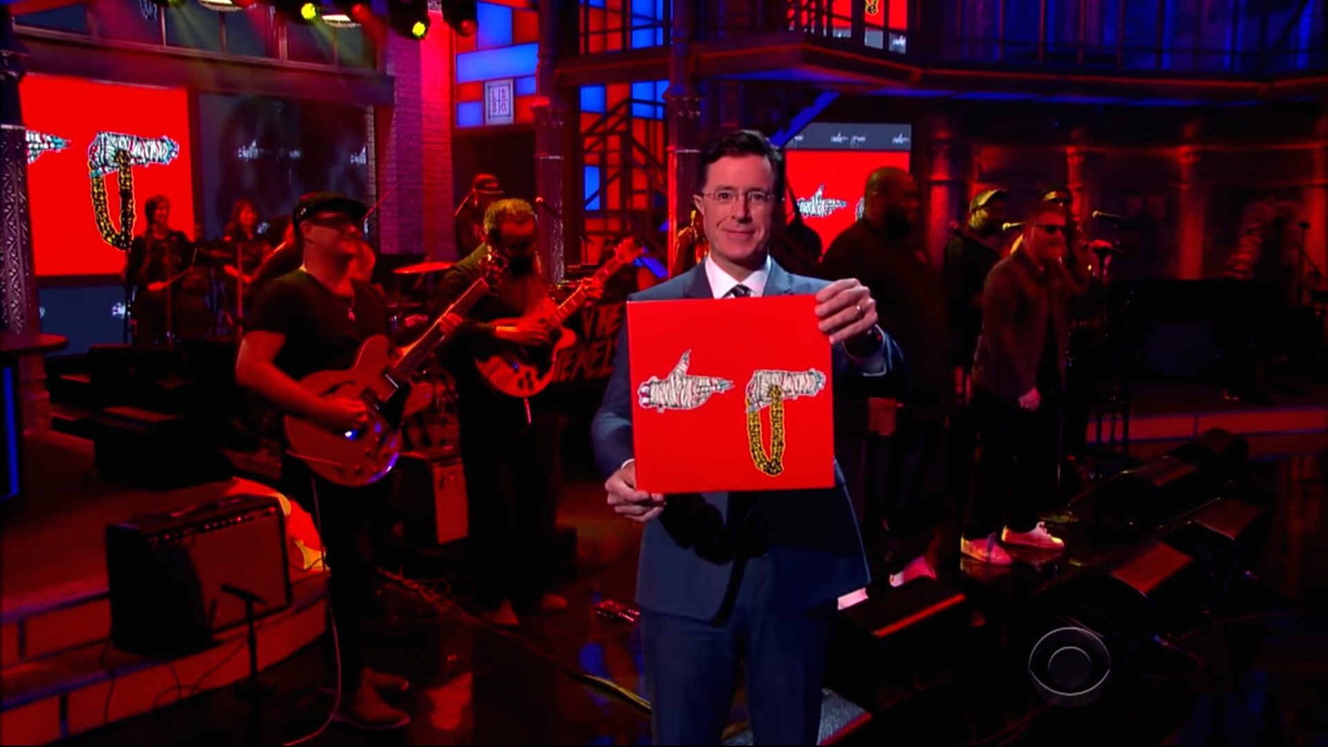 Run The Jewels Perform On The Late Show With Stephen Colbert